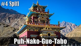 Ep4 | Day5- Pooh-Nako-Gue-Tabo | Ride to Spiti Valley