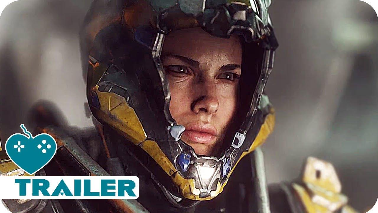 ANTHEM Gameplay Trailer (2018) New Bioware Game | E3 2017