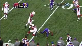 Vikings Do or Die 4th Quarter 17 Point Comeback [week 9, 2010]