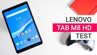Lenovo Tab M8 HD Test: Sehr lange Akkulaufzeit   Deutsch