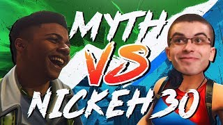 Myth vs Nick Eh 30, Liquid POACH - Pro Playgrounds (1v1 BUILD BATTLES!)