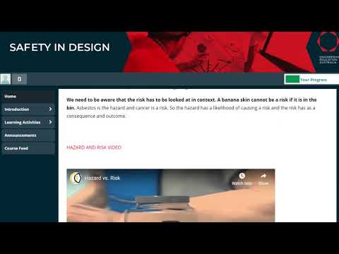 Safety in Design online training for engineers - YouTube
