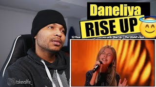 12 Year Old Daneliya Dazzles With 'Rise Up'   The World's Best Audition