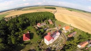 První start bezpilotního dronu DJI Phantom 2 s kamerou GoPro Hero 4 Black edition