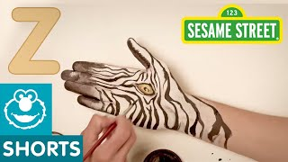 Sesame Street: Hand Painted - Z is for Zebra