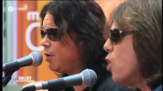 Europe -  Not Supposed To Sing The Blues (Live ZDF Morgenmagazin 01.06.2012)