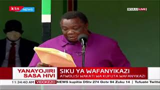 LABOUR DAY 2020: COTU Secretary General Francis Atwoli\'s full speech