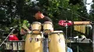 Freddie Navass Latin Jazz Timbales Solo Video