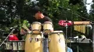 Freddie Navass Latin Jazz Timbales Solo Video