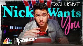Nick Jonas Wants to Be More Than a Coach - He Wants to Be the Artists' Teammate - The Voice 2020