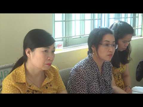 BTV huyện ủy làm việc với xã Lùng Thẩn
