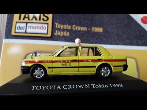 TOYOTA CROWN TOKYO 1998 1/43 LES TAXIS DU MONDE