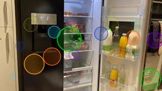 HISENSE Non-Plumb American Fridge-freezer with bar door, affordable — first impression review!!