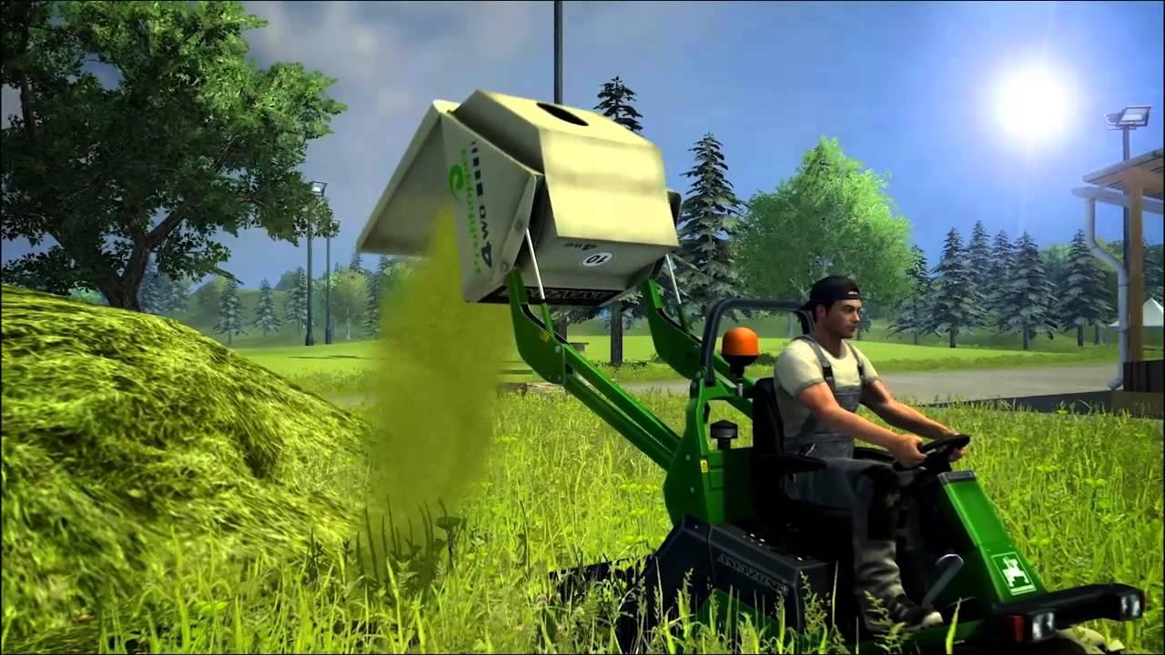 Обложка видео Трейлер #1 Farming Simulator 2013