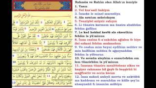 Yasin Suresi Arapça Ve Türkçe Okunuşu Ile Kabe Imamından Dinle