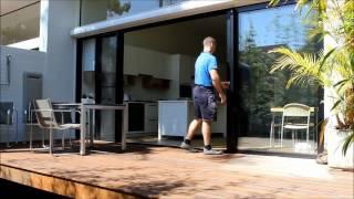 Zipline Screen for Stacking and Sliding Doors