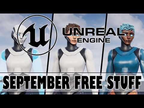 Unreal Engine September 2020 Free Assets