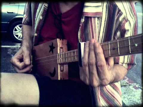 William Lewis Williams playing a Back Porch Mojo KLB Signature CBG