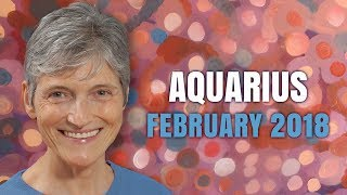 Aquarius February 2018 Horoscope Forecast | Barbara Goldsmith Astrologer