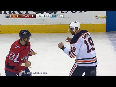Patrick Maroon vs Tom Wilson