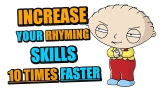 1 HACK To Increase Your Rhyming Skills 10x Faster