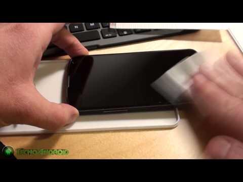 Come applicare una pellicola in vetro temperato - Tutorial by TecnoAndroid.it