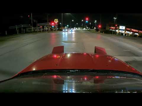 Street Port FC Rx-7 Late Night Drive [4K]