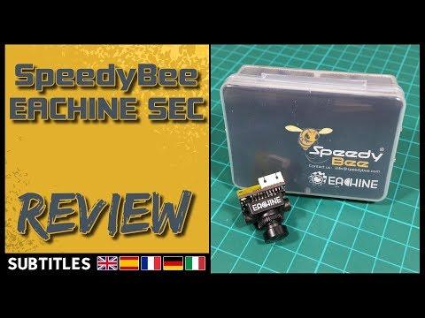 Eachine SpeedyBee SEC - FPV CAM Review