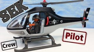 Playmobil SEK Helikopter Polizei seratus1 auspacken unboxing Hubschrauber 5563