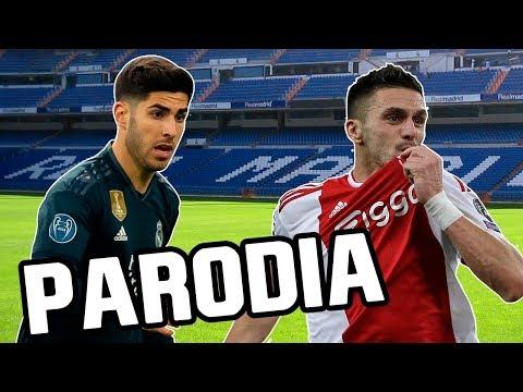 Canción Real Madrid vs Ajax 1-4 (Parodia Con Calma - Daddy Yankee & Snow)