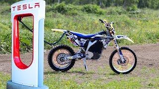 Электро мотоцикл Yamaha – ДВС остался в прошлом?