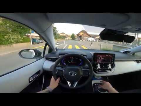2020 Toyota COROLLA HATCHBACK Hybrid Drive Test POV