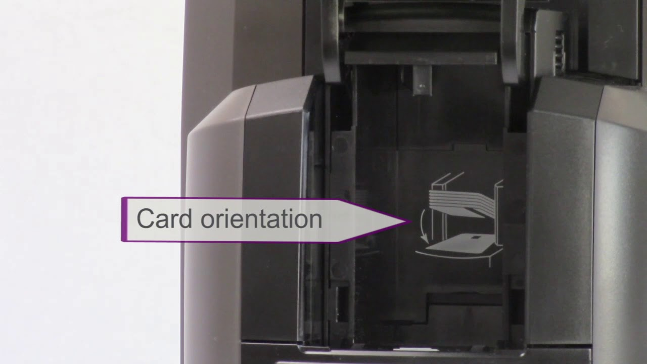 Datacard CR805 - How to Load Cards