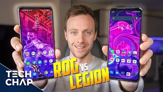 Lenovo Legion Duel 2 vs Asus ROG Phone 5 - BEST Gaming Phone?