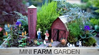 Mini Farm Garden