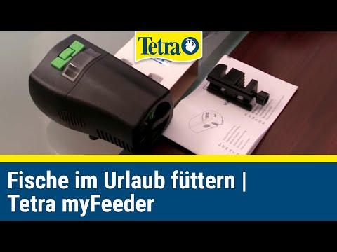 Fische im Urlaub füttern - der Tetra myFeeder