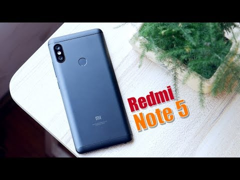 Обзор Xiaomi Redmi Note 5 (4/64Gb, Global, black)