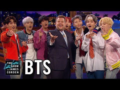 BTS Invades The Late Late Show!