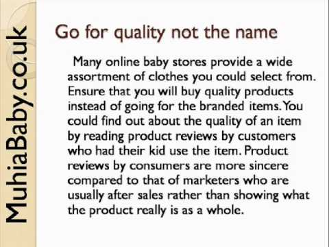 , title : 'Online Baby Stores - Clothing Tips