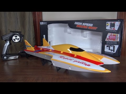 WLtoys – WL913 Speed Boat – Review and Run