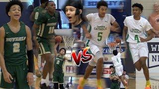 Tre Mann vs Kobe Knox! 2019 National Hoopfest