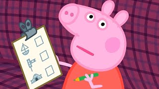 Peppa Pig Full Episodes | The Train Ride | Kids Videos