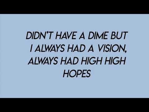 High Hopes - Panic! At The Disco (lyrics) Mp3