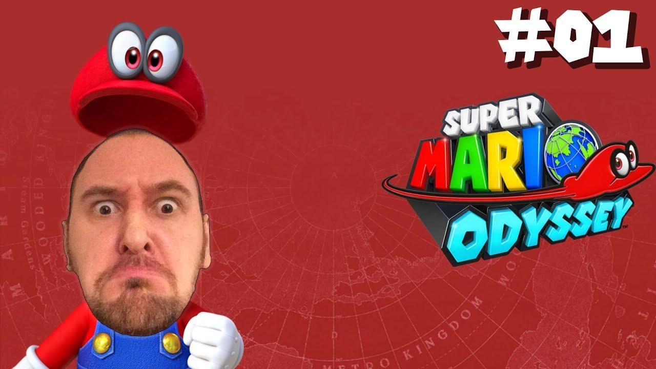 Super Mario Odyssey – Part 1: Hutland, Kaskadenland und das Wüstenland