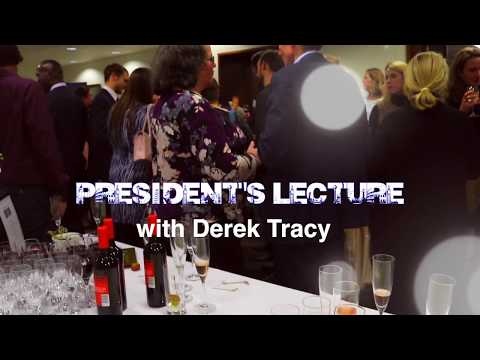 President's lecture: Dr Derek Tracy