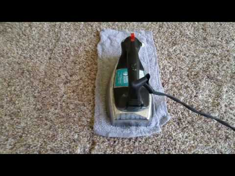 Removing Gatorade or Kool-aid stain from carpet