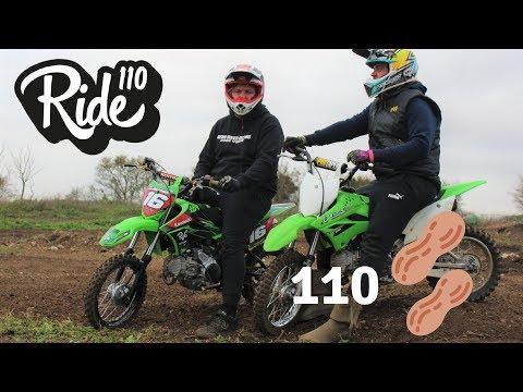 kawasaki KLX110 マフラー||バイクパーツ動画バイク用品動画