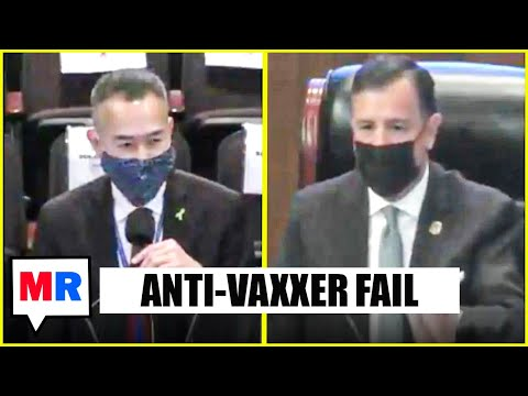 Doctor Laughs In Anti-Vax GOP Official's Face