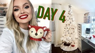 DECORATE WITH ME FOR CHRISTMAS + KETO LUNCH! VLOGMAS DAY 4