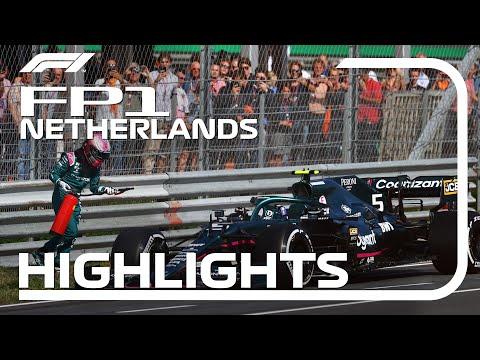 F1 第13戦オランダGP(ザントフォールト)FP1のハイライト動画